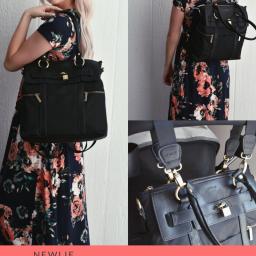 Newlie Louise Backpack Diaper Bag