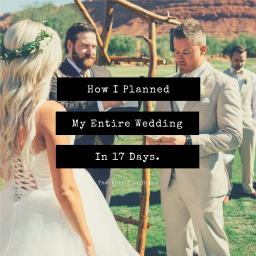 How I Planned My Entire Wedding in 17 Days